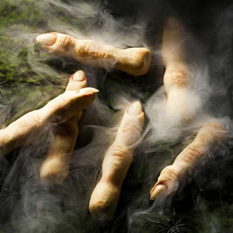 Пальцы хлебного дерева, которое растёт в средней полосе белой планеты Амига. Подаются с земными соусами на выбор.